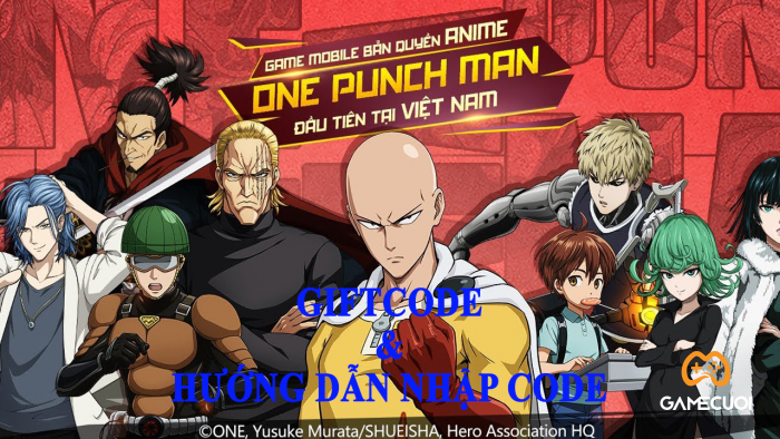 giftcode One Punch Man: The Strongest