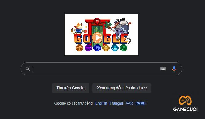 Thú vị với tựa game ngay trên trang tìm kiếm Google về Olympic Tokyo