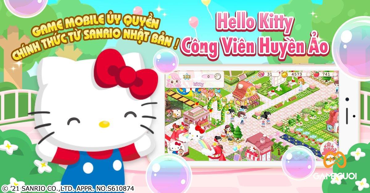 """Hello Kitty Công Viên Huyền Ảo dời ngày ra mắt, tặng quà """"xịn sò"""" cho game thủ đăng ký trước"""