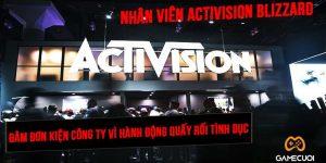 Nóng, Activision Blizzard bị các nhân viên của mình đâm đơn kiện nghiệm trọng