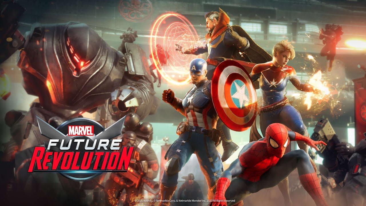 Game siêu anh hùng Marvel Future Revolution của Netmarble ấn định ngày phát hành