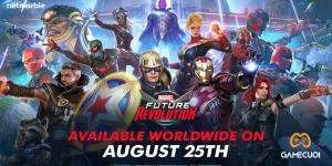 Marvel Future Revolution ra mắt trên toàn thế giới vào ngày 25 tháng 8