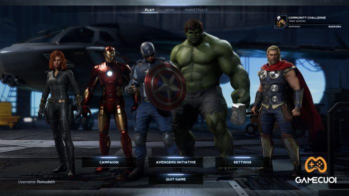 marvels avengers 3 Game Cuối