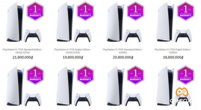 PS5 mức giá hiện tại rất cao, tuy nhiên chất lượng thì khỏi bàn cãi