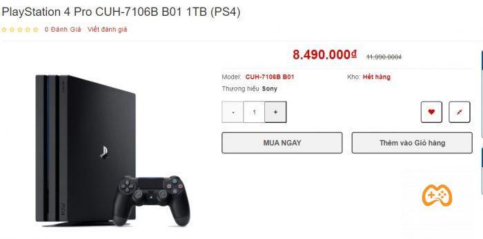 Cần cấu hình tốt hơn thì đã có PS4 PRO, có thể mua rẻ trong các đợt sale lớn