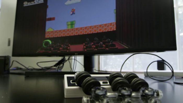 robotic hand nintendo super mario bros 3 Game Cuối
