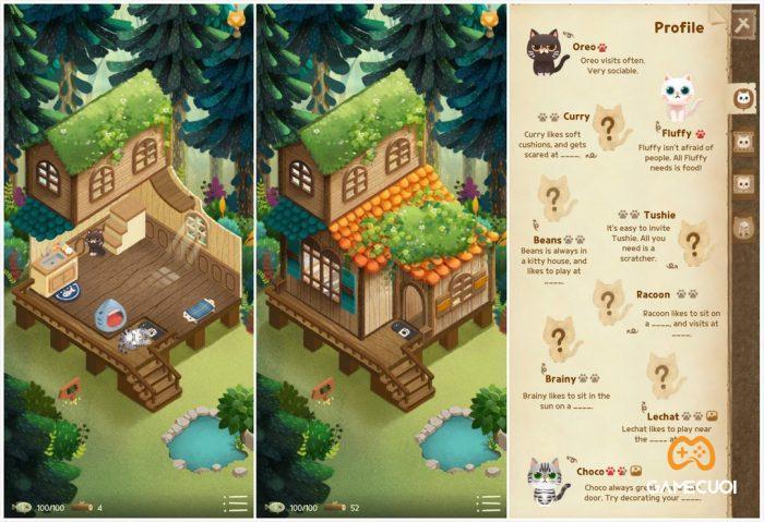 secret cat forest 3 Game Cuối