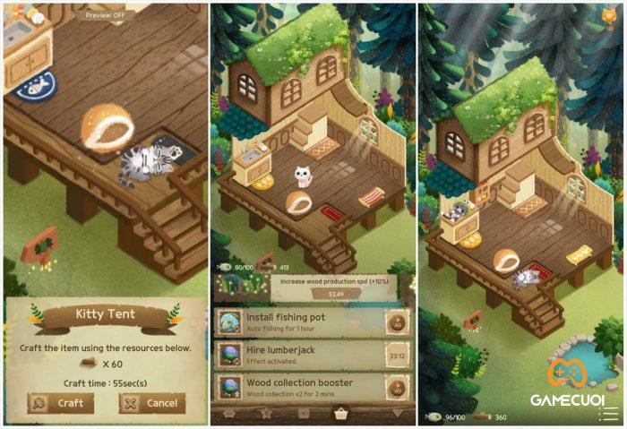 secret cat forest Game Cuối