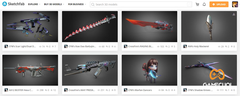 """Website chia sẻ mô hình 3D Sketchfab """"gia nhập"""" Epic Game"""