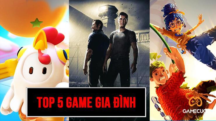 [PlayStation 4] Top 5 game gia đình dành cho mùa dịch