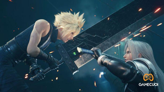 Game dẫn dắt người chơi qua góc nhìn của nhân vật chính, Cloud Strife - một cựu thành viên của lực lượng mang tên SOLDIER