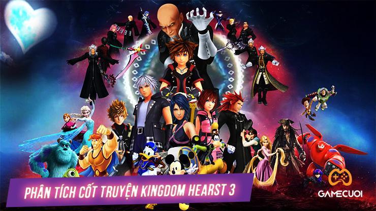 Phân tích cốt truyện của Kingdom Hearts 3 trong khi kết còn dang dở