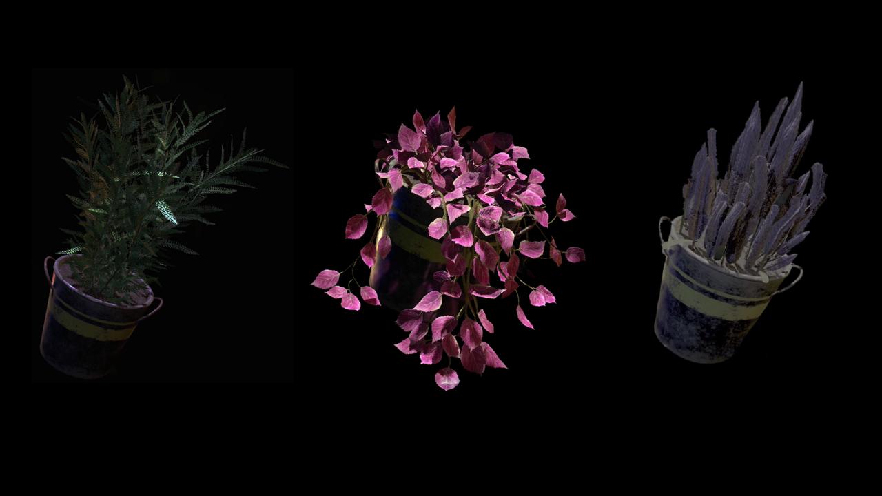 Resident Evil: Lịch sử, công dụng của các loại thảo dược đa sắc màu trong series