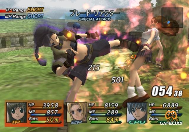 Mỗi trận đánh sẽ diễn ra với tối đa là ba thành viên trong nhóm của bạn cùng với đối thủ máy, bạn có thể dễ dàng chuyển đổi các nhân vật của mình bằng phím R1 và L1