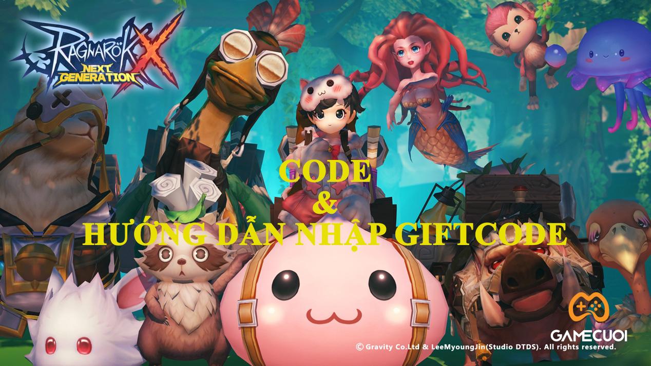 1999 Code Ragnarok X: Next Generation Việt Nam và hướng dẫn nhập gifcode