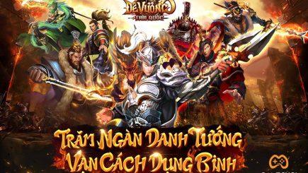 Tựa game chiến thuật Đế Vương Tam Quốc cập bến làng game Việt