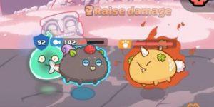 Các hiệu ứng bất lợi của pet trong Axie Infinity mà người chơi mới cần biết