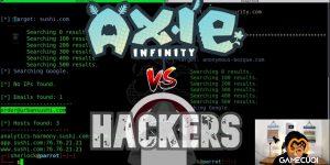 Muôn kiểu lừa đảo, ăn cắp tài khoản trong Axie Infinity