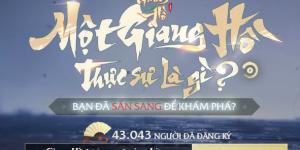 VNG đặt cột mốc cho tựa game Nhất Mộng Giang Hồ lên tới … 1 triệu lượt đăng ký sớm