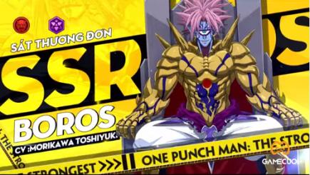 Chúa tể Boros chính thức ra mắt trong One Punch Man: The Strongest VNG