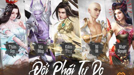 Thần Kiếm Mobile – tuyệt phẩm MMO nhập vai nhà Funtap chính thức lộ diện