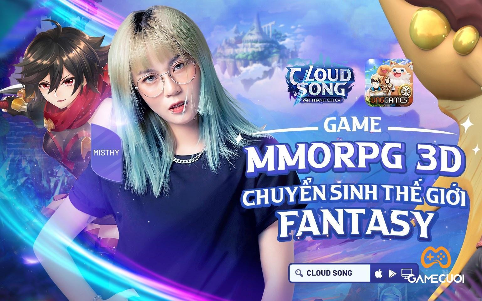 MisThy và Ribi Sachi sẽ là người đồng hành cùng Cloud Song VNG