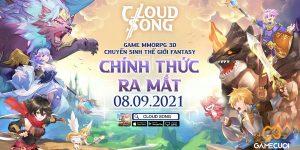 Cloud Song VNG tặng giftcode nhân ngày ra mắt