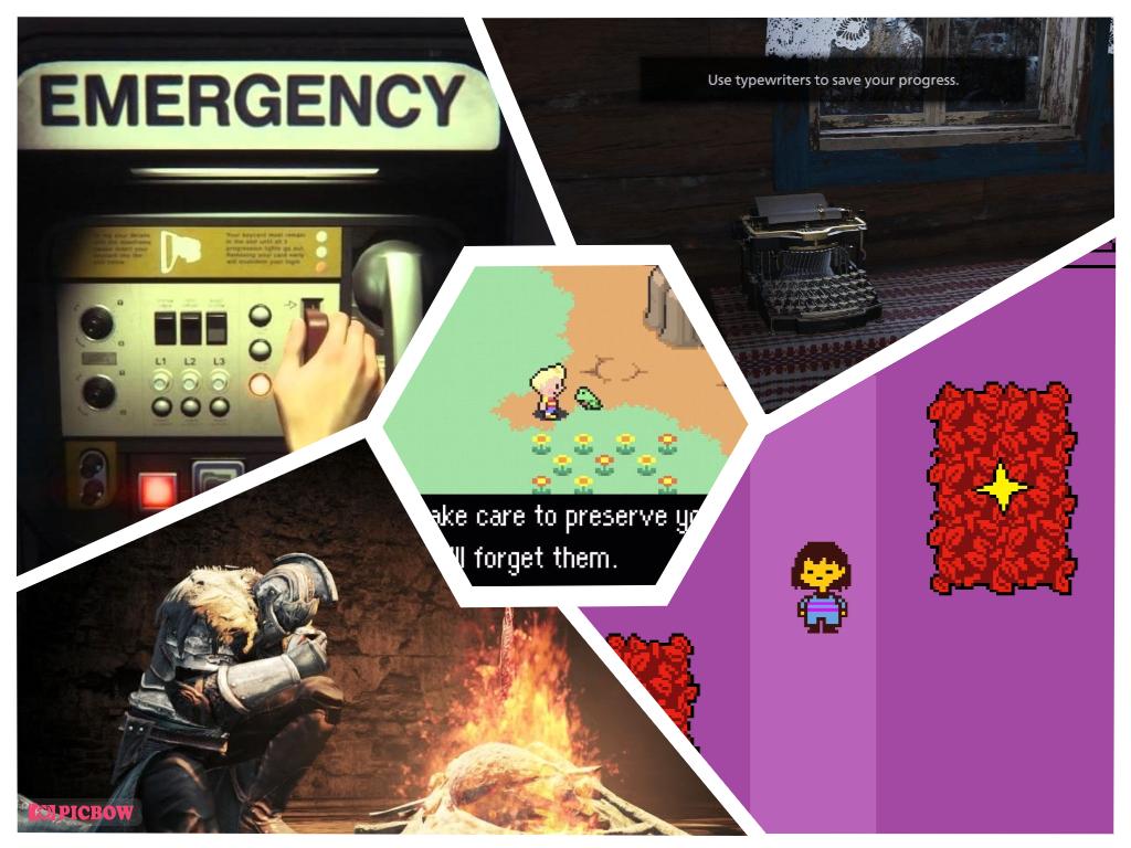 8 ý tưởng Save Game sáng tạo độc đáo nhất trong các trò chơi