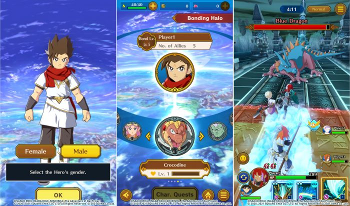 Dau an rong thieng Dragon Quest Dai Mobile an dinh ngay phat hanh 2 Game Cuối