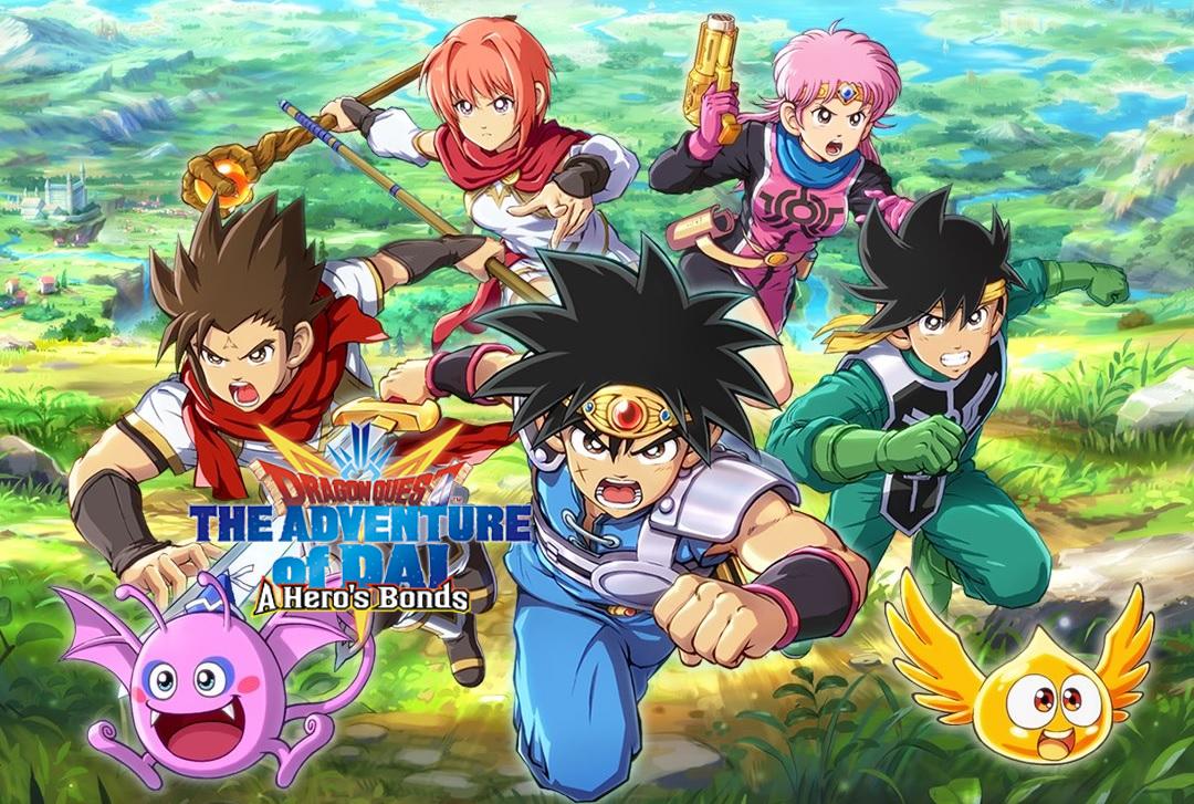 """""""Dấu ấn rồng thiêng"""" Dragon Quest Dai Mobile ấn định ngày phát hành"""