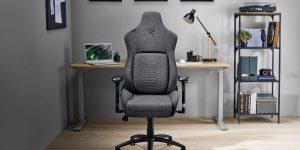 Razer trình làng ghế chơi game Iskur phiên bản vải sợi Fabric, giá từ 11 triệu đồng