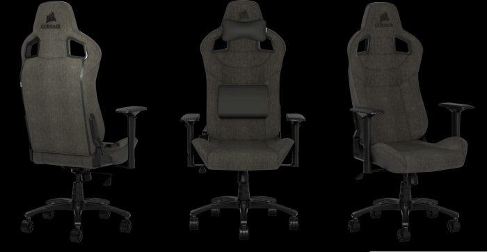 Ghe choi game vai soi Fabric tot nhat Corsair T3 Rush Gaming Chair 1 Game Cuối