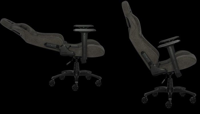 Ghe choi game vai soi Fabric tot nhat Corsair T3 Rush Gaming Chair 2 Game Cuối