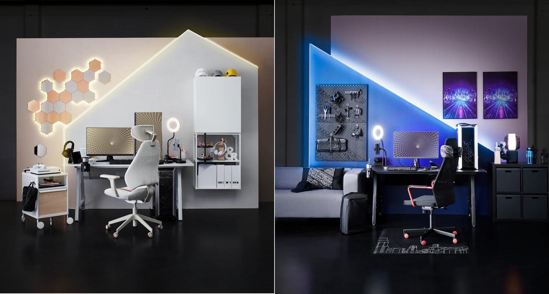 Ikea kết hợp ASUS ROG tung ra bộ sưu tập gaming mới, giá từ 8 đến 600 đô la