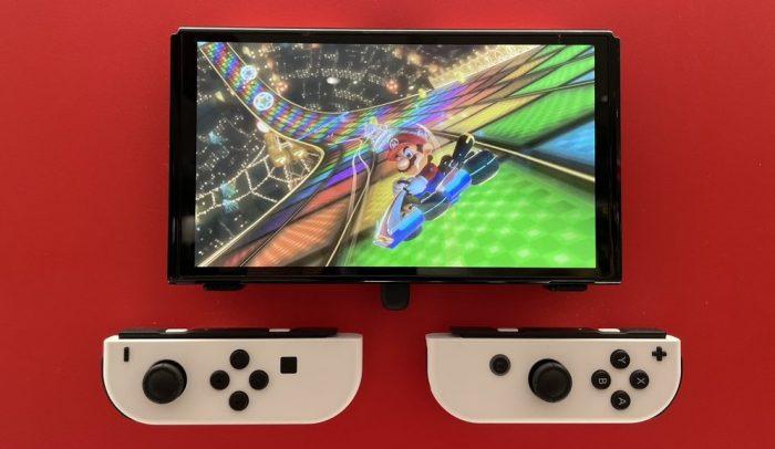 Lo dien nhung anh chup doi thuc cua Nintendo Switch OLED tai Nhat 2 Game Cuối