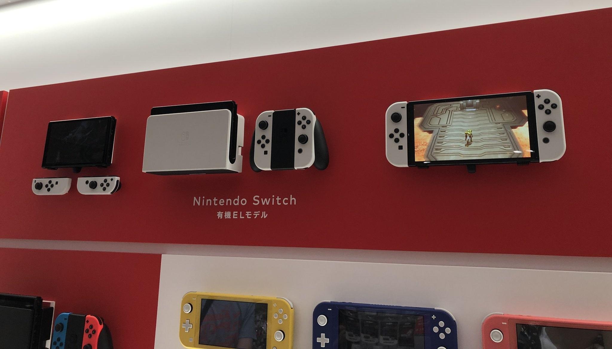 Nintendo Switch OLED: Lộ diện những ảnh chụp đời thực đầu tiên tại Nhật