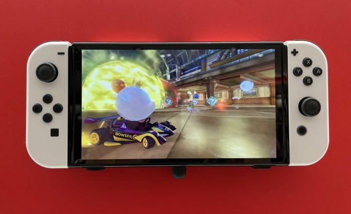Lo dien nhung anh chup doi thuc cua Nintendo Switch OLED tai Nhat Game Cuối