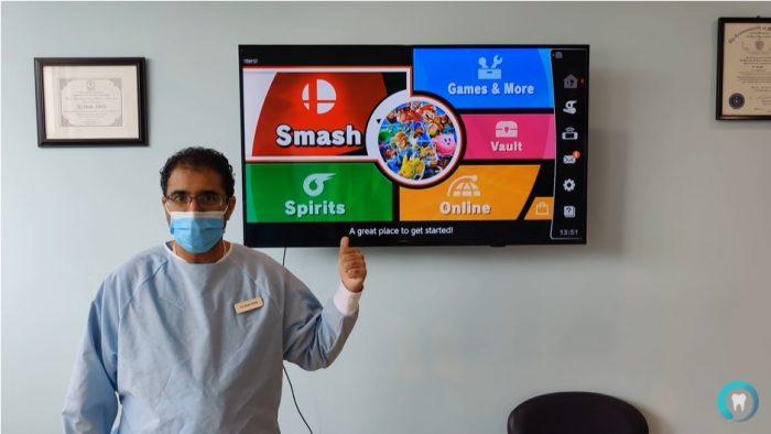Nha si mien phi tien cham soc rang cho bat ky ai dau Smash Bros. thang ong Game Cuối