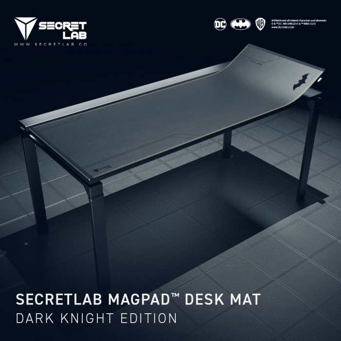 Secretlab ban choi game phien ban Hiep si bong dem Batman 3 Game Cuối