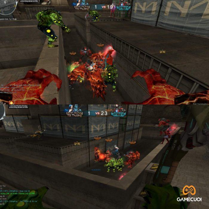 """""""Chặn cửa"""" là hình thức phá game phổ biến trong chế độ Zombie của Đột Kích"""