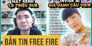 Free Fire: Bác Gấu Mất Quyền Kiểm Soát Kênh Youtube