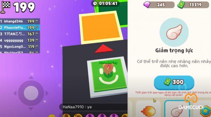items Game Cuối