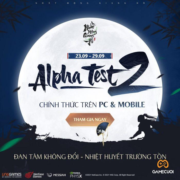 nhat mong giang ho alpha test 2 Game Cuối