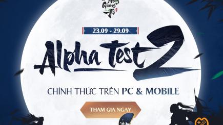 Nhất Mộng Giang Hồ mở cửa Alpha Test cả 2 bản mobile và PC vào ngày 23/9