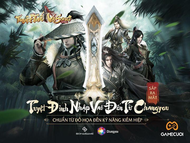 Tuyệt Thế Vô Song Mobile chuẩn bị cập bến làng game Việt