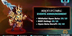 HeroFi tiến hành Open Beta vào ngày 30/10