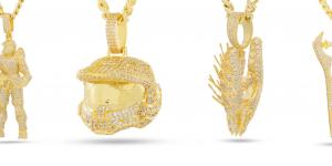 Dây chuyền Halo vàng 14K tuyệt đẹp dành cho fan Master Chief có giá gần 3 triệu đồng