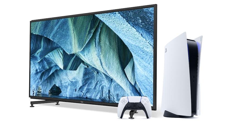 Điểm danh 2 chiếc TV 8K tốt nhất cho PS5 hiện tại