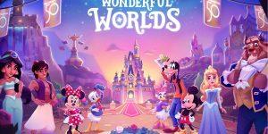 [Game hay cho bé] Disney Wonderful Worlds chính thức cập bến iOS và Android