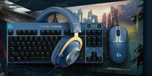 Logitech G ra mắt bộ sưu tập Gear LMHT với tai nghe, bàn phím, chuột chủ đề Hextech